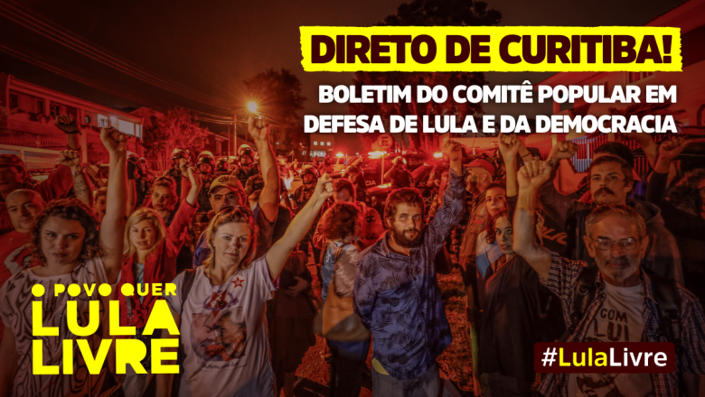 Imagem de #NósSomosLula Confira o Boletim Comitê Popular em Defesa de Lula e da Democracia