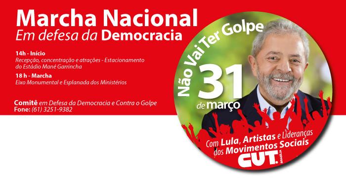 Imagem de Brasília: Lula participará da Marcha da Democracia nesta quinta (31)