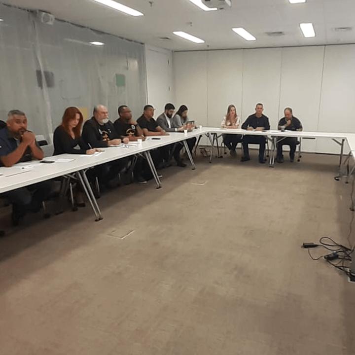 Imagem de Aeroviários realizam assembleias itinerantes com a categoria para apreciar proposta as empresas aéreas