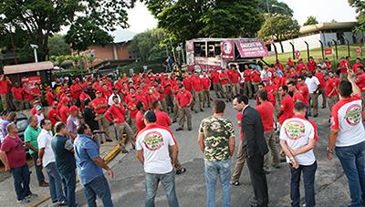 Imagem de Sorocaba: Sindicato dos Rodoviários protesta contra demissão de mais de 200 trabalhadores