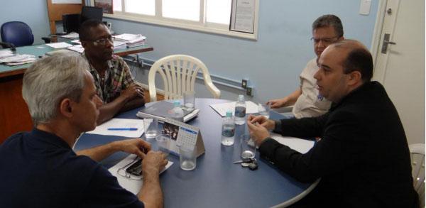Imagem de Espírito Santo: Portuários debatem  condições de trabalho com representantes da TVV