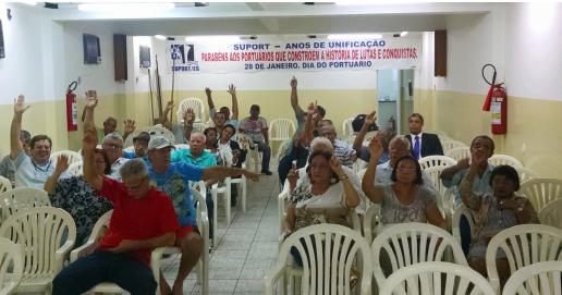 Imagem de Espírito Santo: Após acordo, portuários na Codesa suspendem greve