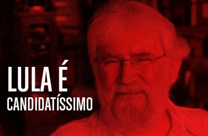 """Imagem de """"Lula segue candidatíssimo"""", diz Boff após encontro com ex-presidente"""