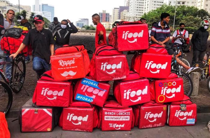 Imagem de Em apoio à greve dos entregadores, Fenamoto quer parar 7,5 milhões de motoboys