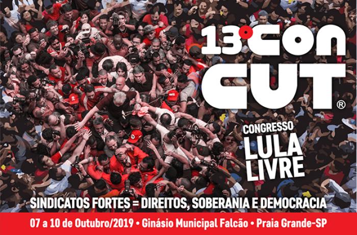 """Imagem de Congresso Nacional da CUT """"Lula Livre"""" começa nesta segunda-feira (7)"""