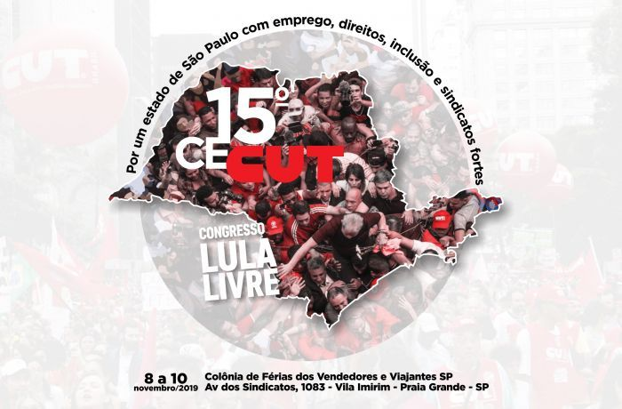 Imagem de 15º CECUT debaterá a luta por um estado de São Paulo com emprego, direitos, inclusão e sindicatos fortes