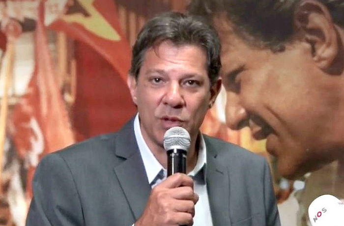 Imagem de Haddad chama Bolsonaro para debate: 'Vou até a enfermaria, se for preciso'