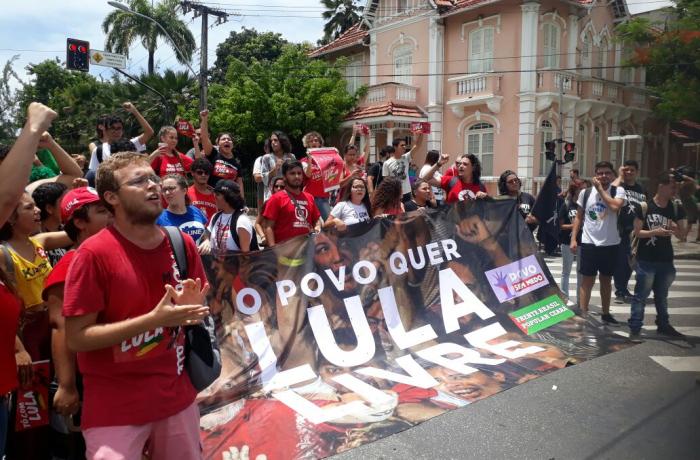 Imagem de Manifestações em favor de Lula se multiplicam em todo o país