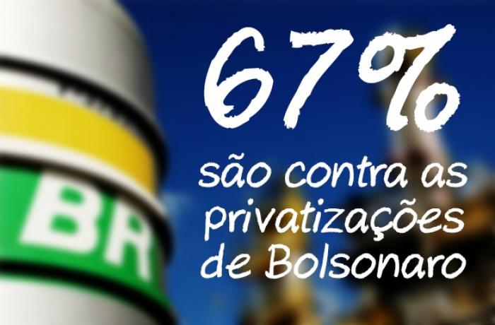Imagem de Maioria dos brasileiros é contra programa de privatizações de Bolsonaro