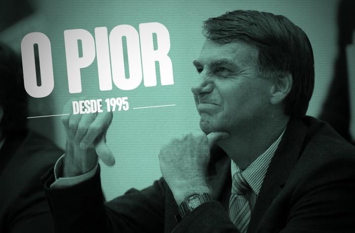 Imagem de Popularidade de Bolsonaro despenca e já é a pior dos últimos 24 anos