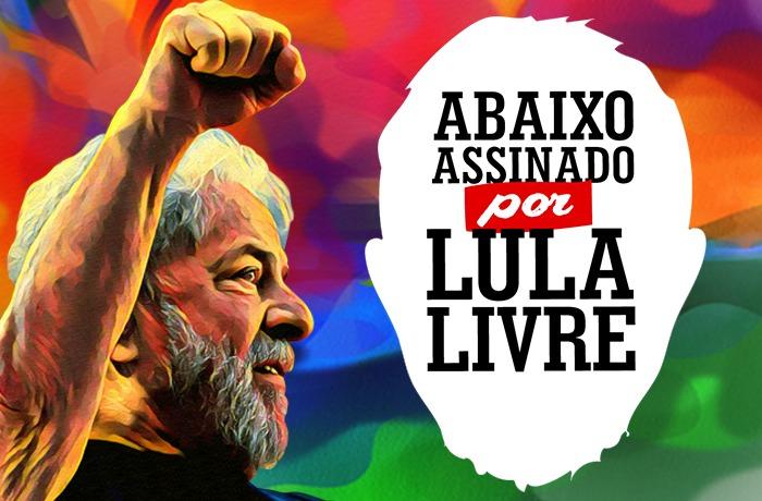 Imagem de #LulaLivre Conspiração para prender Lula intensifica campanha por sua liberdade no mundo