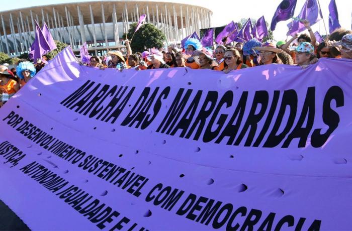 Imagem de Marcha das Margaridas toma Brasília em defesa da soberania e da democracia