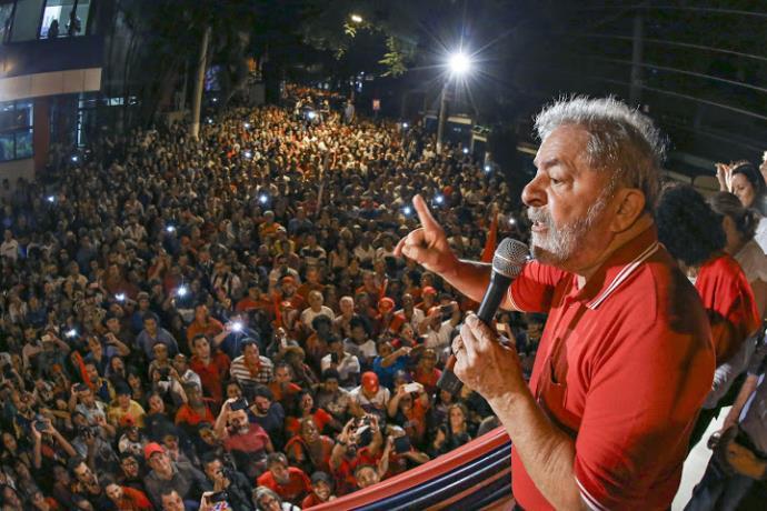 Imagem de Para reforçar luta pela democracia, Lula lança site
