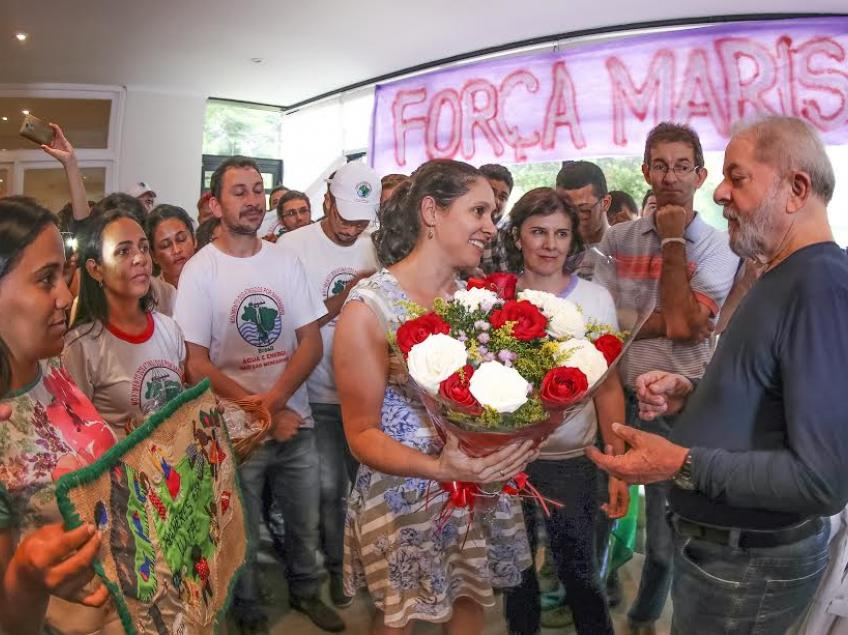 Imagem de Movimento presta apoio e solidariedade a Lula e Dona Marisa