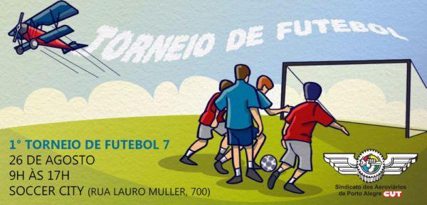 Imagem de Porto Alegre: Aeroviários vão realizar  1º Torneio de Futebol Sete