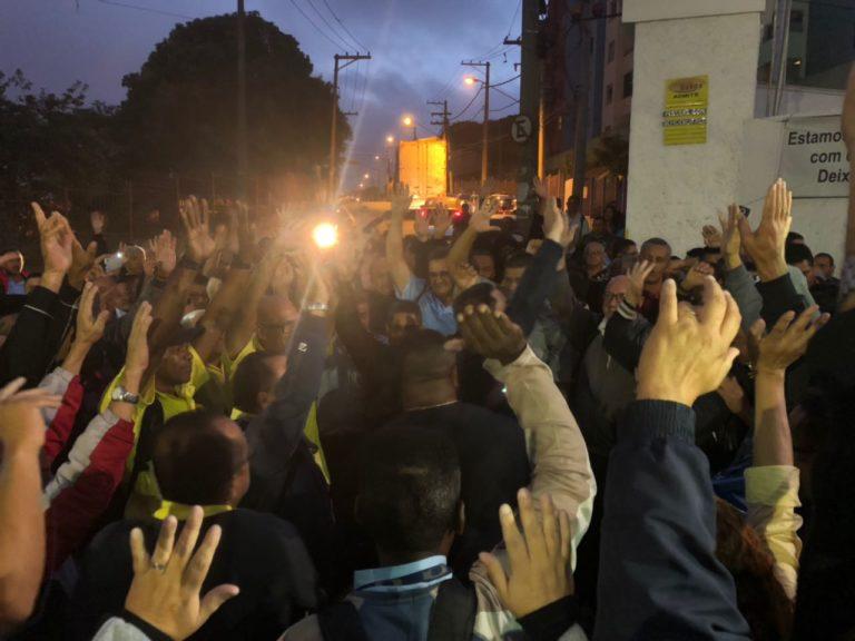 Imagem de Guarulhos: Motoristas e cobradores na Campo dos Ouros e Viação Atual cruzam os braços