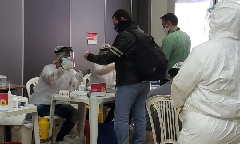 Imagem de Sindicato dos Ferroviários ES/MG acompanha testes da COVID-19 na Vale e entrega 8 mil kits de proteção para categoria