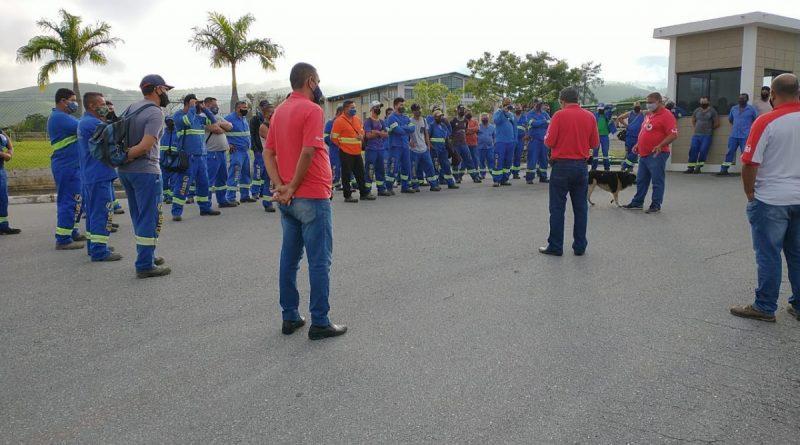 Imagem de Vale do Paraíba:Trabalhadores do setor de cargas param contra atraso nos salários