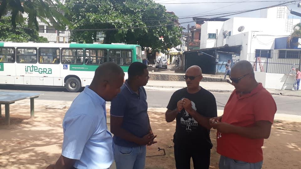 Imagem de Bahia: Rodoviários verificam condições de trabalho nos finais de linha