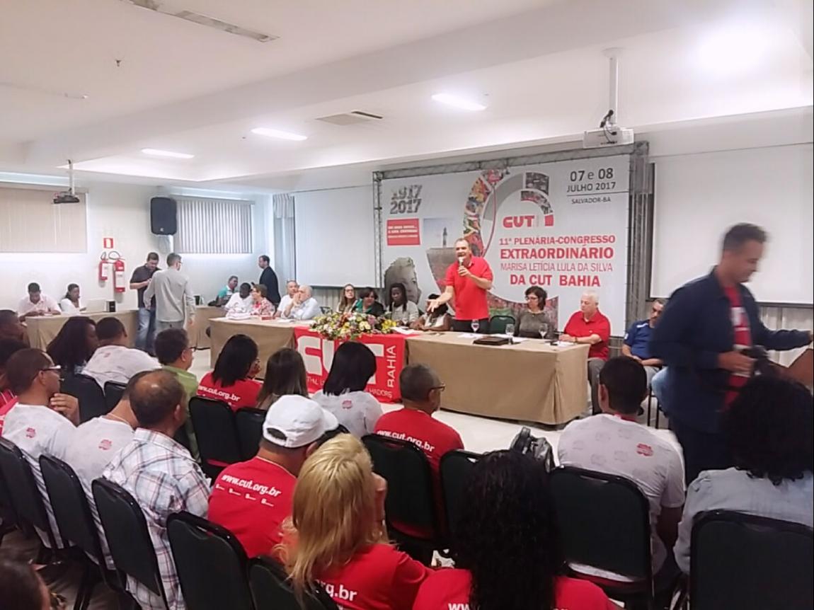 Imagem de Bahia:  Rodoviários de Salvador e Feira de Santana participam da 11ª Plenária – Congresso Extraordinário Marisa Letícia Lula da Silva