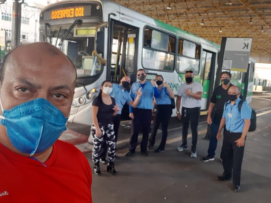 Imagem de Sorocaba: Empresas do urbano pagam adiantamento salarial e trabalhadores(as) encerram protesto