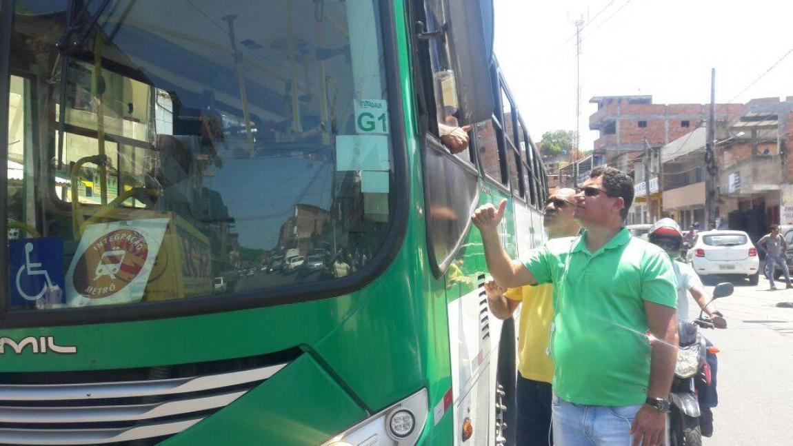 Imagem de Salvador: Após Sindicato verificar condições de segurança, rodoviários voltam a circular no bairro Santa Mônica