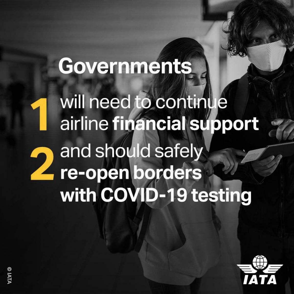Imagem de ITF e IATA cobram dos governos medidas para barrar desemprego no setor da aviação civil