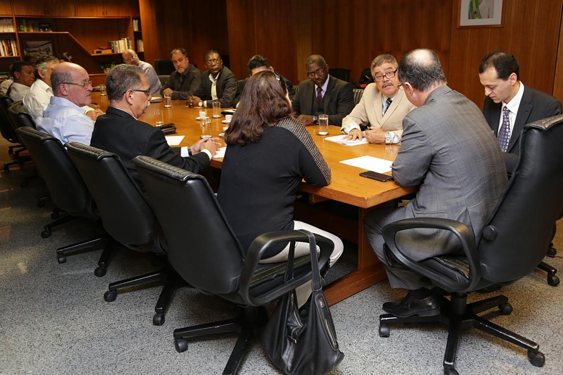 Imagem de Brasília: FNP/CUT se reúne com o Ministro da Previdência para discutir o Portus