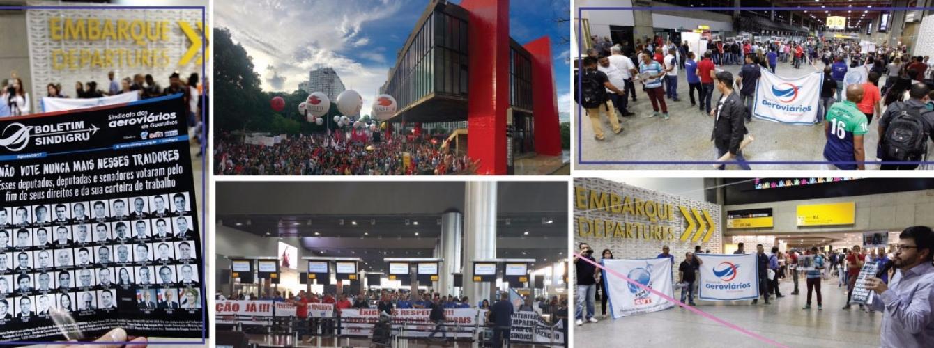 Imagem de CNTTL repudia empresa aérea Latam por demissões e terceirização no Aeroporto Internacional de Guarulhos