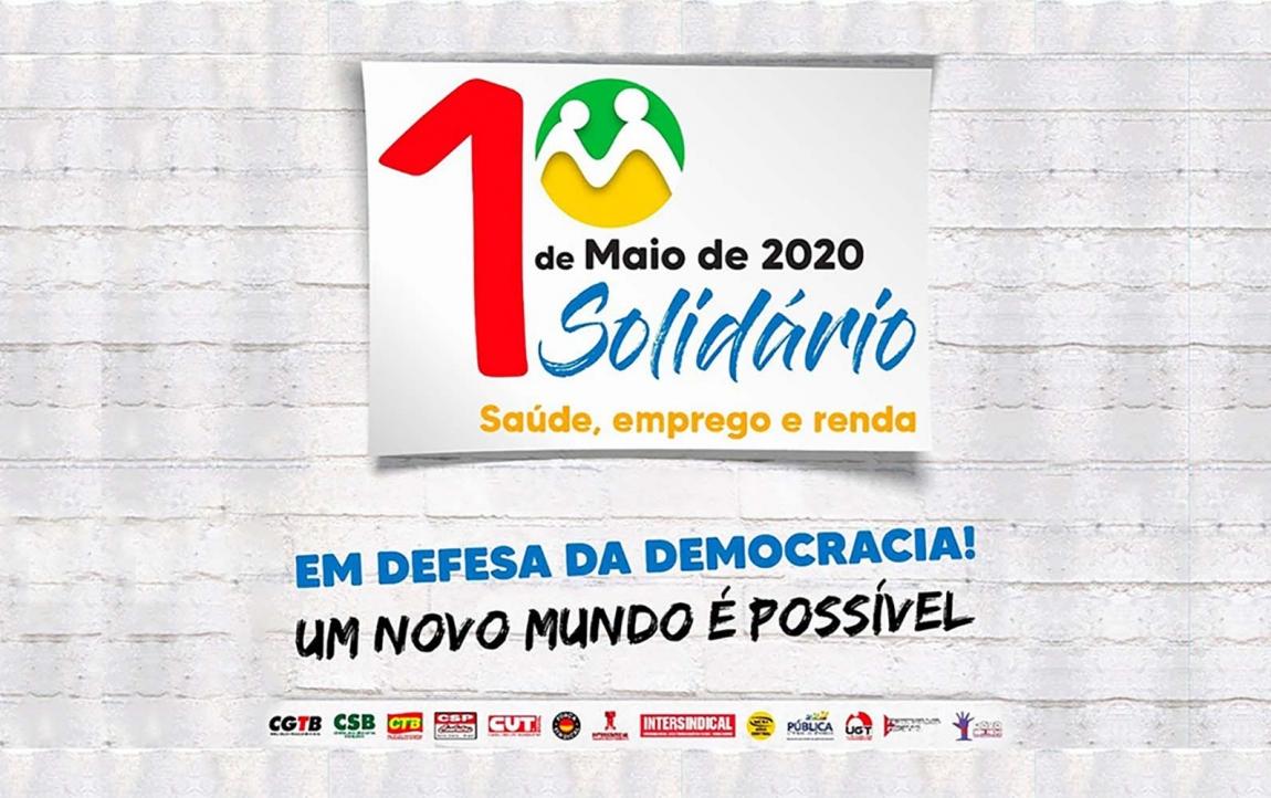 Imagem de 1º de Maio virtual: saúde, emprego, renda, 30 artistas e 'frente ampla' anti-Bolsonaro
