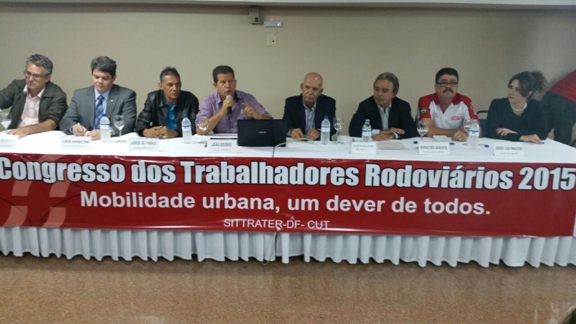 Imagem de Brasília: Rodoviários promovem Congresso da categoria
