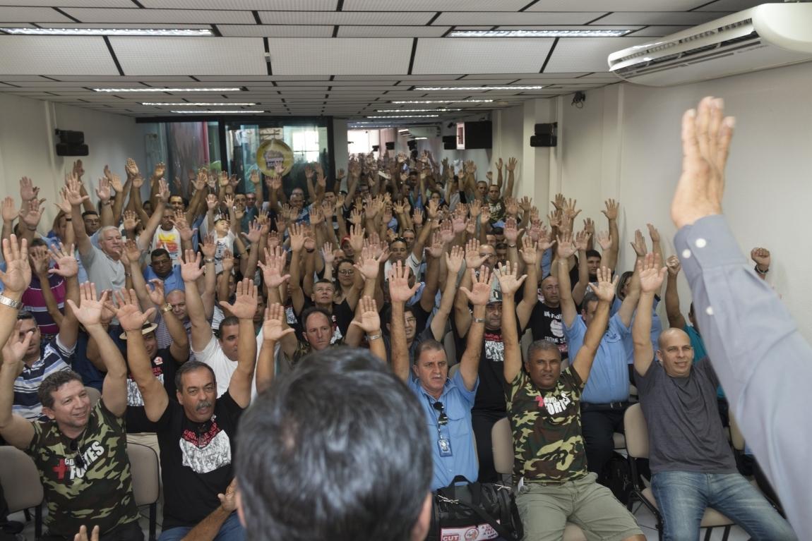 Imagem de Sorocaba: Rodoviários realizam assembleia para definir plano de luta da campanha salarial 2018