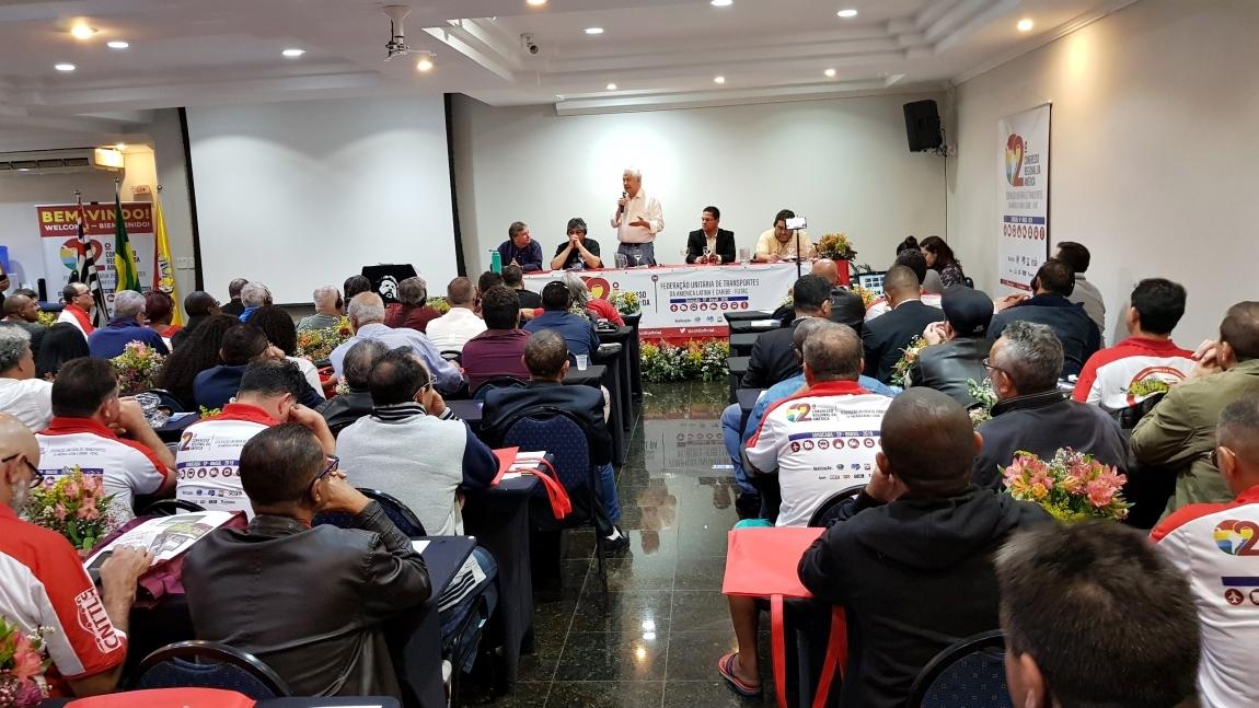 Imagem de #2ºCongressoFUTAC Politização dos trabalhadores e o combate ao trabalho infantil abrem debates do segundo dia