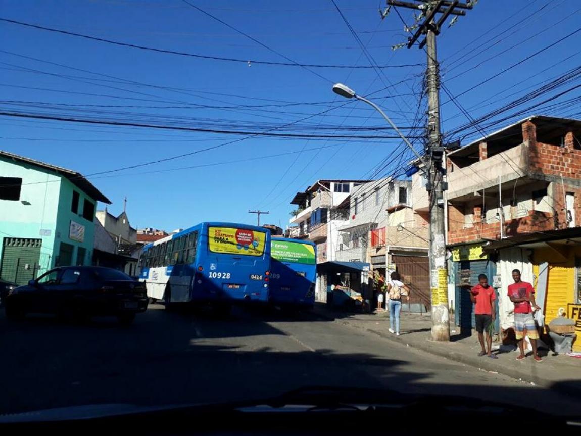 Imagem de Salvador: Com reforço na segurança, rodoviários em Iapi e Calçada voltam a circular