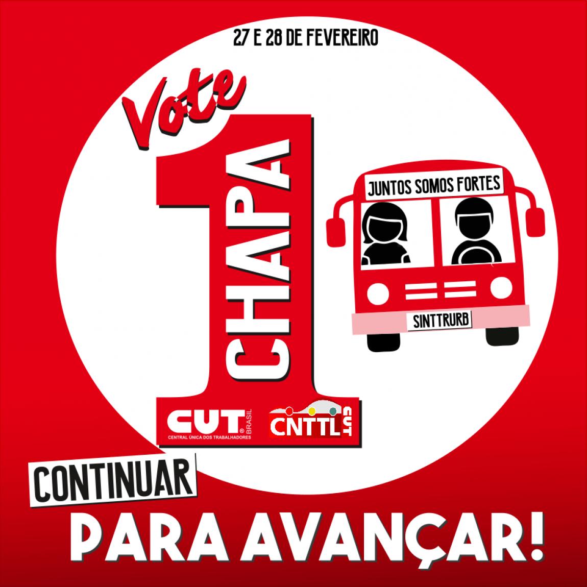 Imagem de Uberlândia: CNTTL apoia Chapa 1 do Sindicato dos Trabalhadores no Transporte Coletivo e Urbano