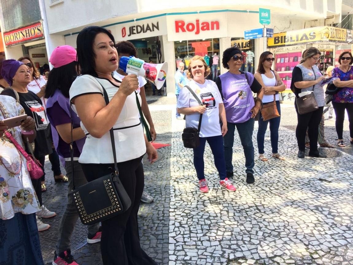 Imagem de Manifestações neste 25 de novembro abriram os 16 dias de ativismo pelo fim da violência contra as mulheres