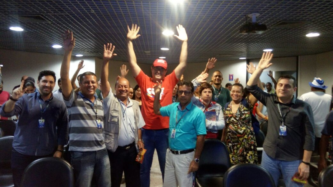 Imagem de Pernambuco: Aeroportuários aprovam adesão à Greve Geral na sexta-feira (28)