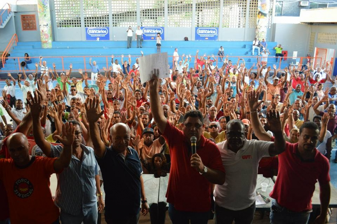 Imagem de Bahia: Rodoviários aprovam pauta de reivindicações da Campanha Salarial 2018