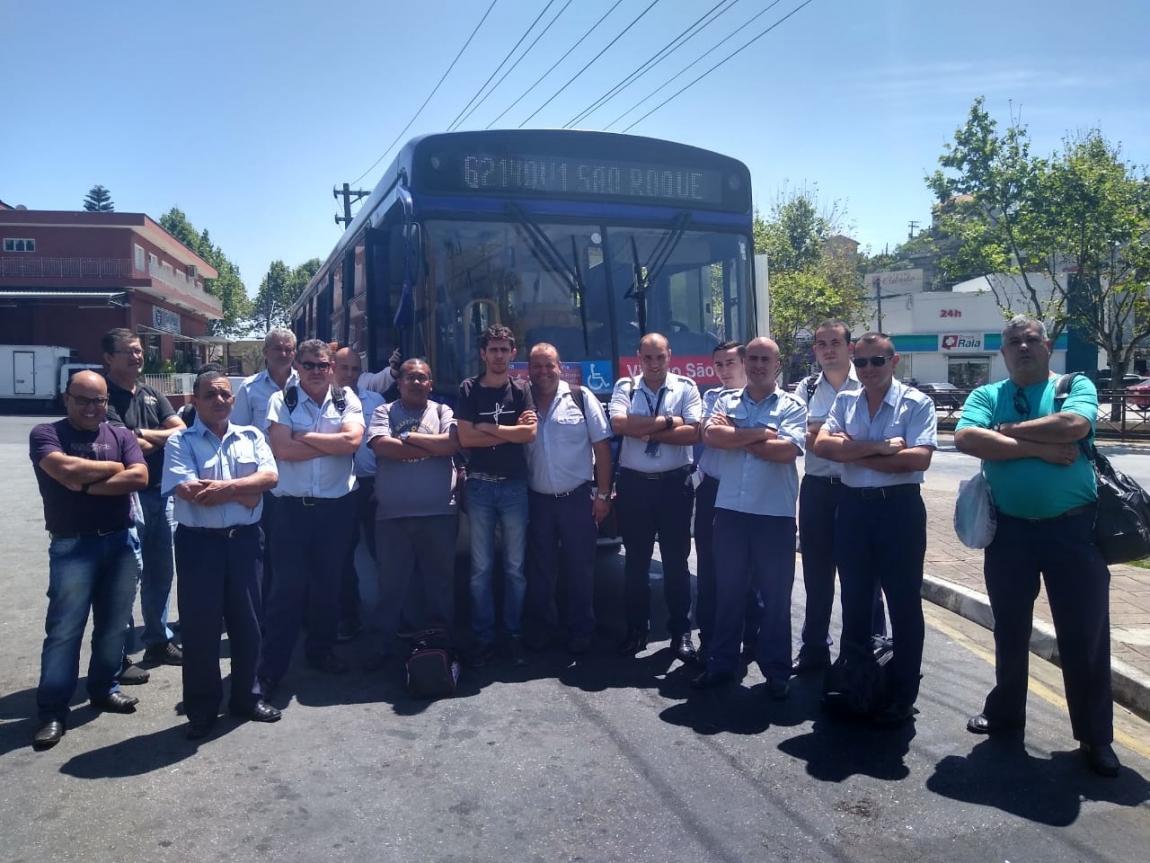 Imagem de Sorocaba: Trabalhadores na Viação São Roque continuam em greve