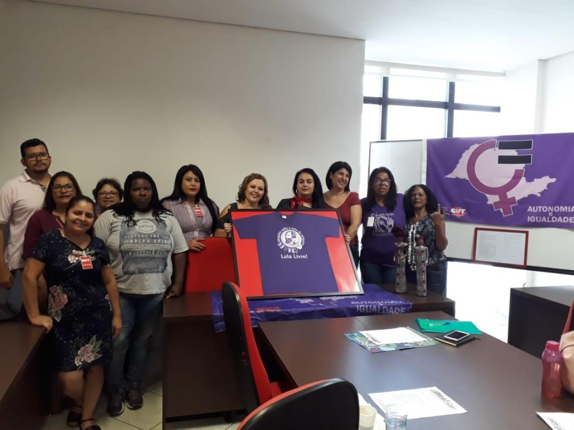 Imagem de Trabalhadoras em transportes participam de reunião do Coletivo Estadual de Mulheres da CUT/SP