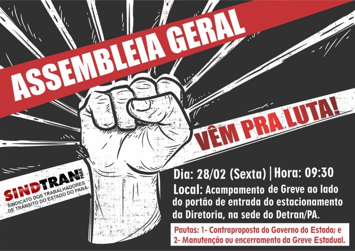 Imagem de Belém: Agentes de Trânsito no Detran-Pará definirão rumos da greve nesta sexta-feira (28)