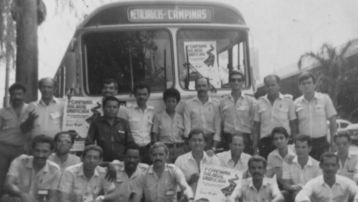 Imagem de Só a luta muda: Greve vitoriosa dos trabalhadores em transportes em Campinas completa 35 anos e é exemplo de unidade e resistência