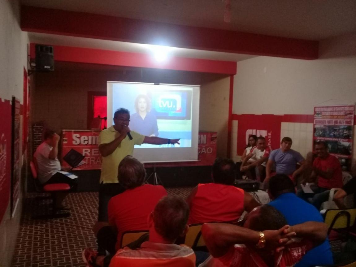 Imagem de Natal: Sindicato dos Rodoviários realiza Seminário sobre Reforma Trabalhista