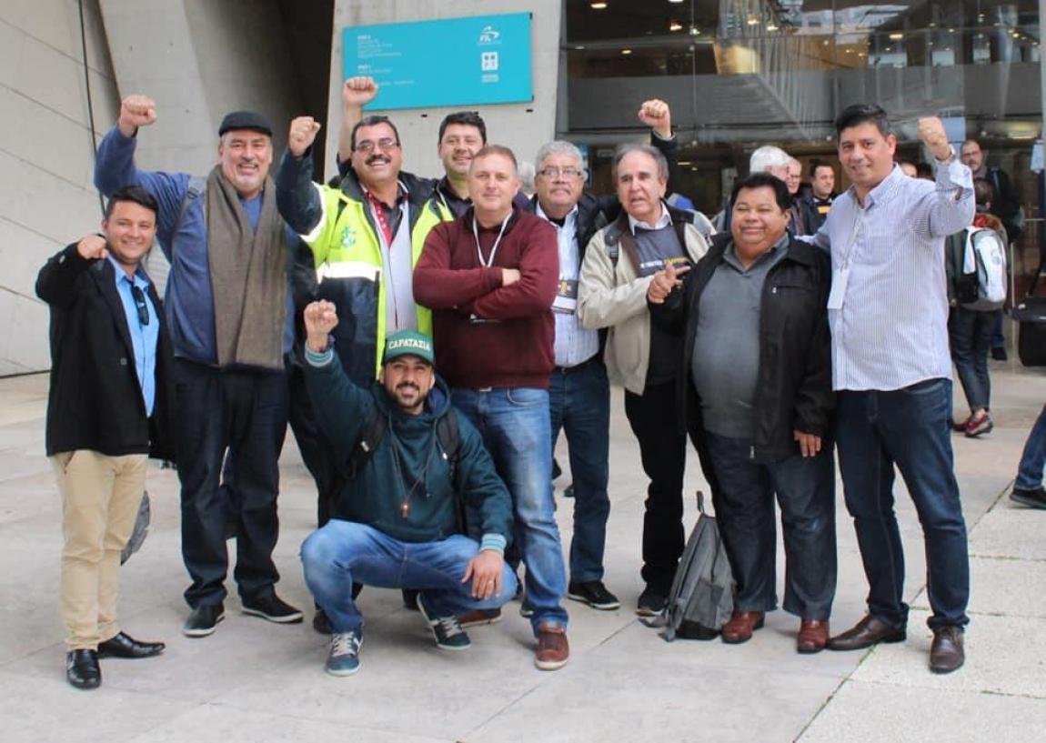 Imagem de Lisboa: Portuários de todo o mundo debatem lutas na 8ª Assembleia Geral do IDC