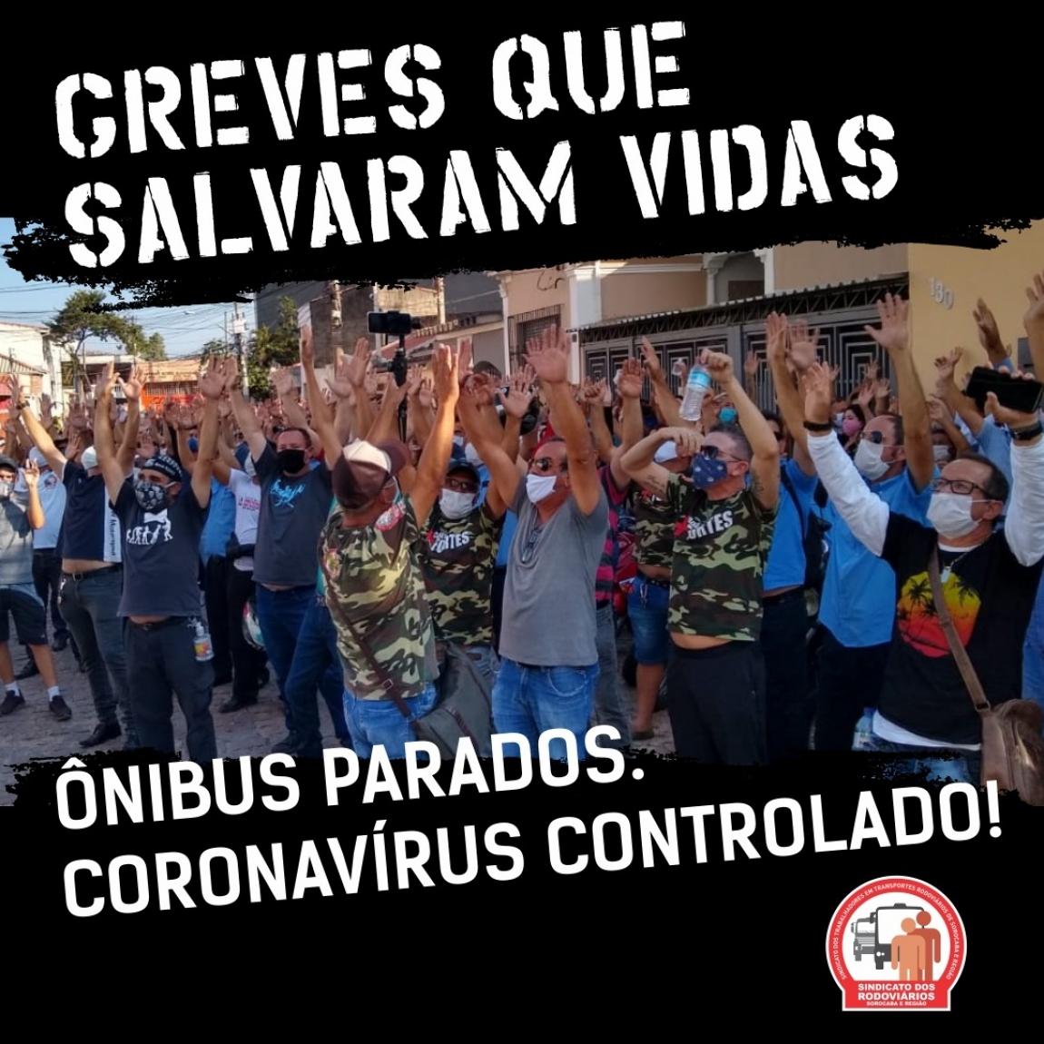 Imagem de Sorocaba: Paralisação dos ônibus contribuiu para conter o aumento de casos de Covid-19