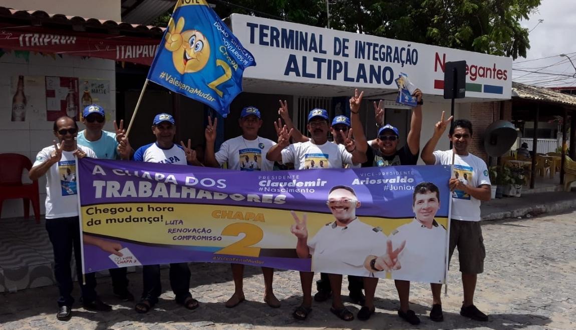 Imagem de Eleição Sindical: CNTTL apoia Chapa 2 da Oposição Rodoviária da Paraíba