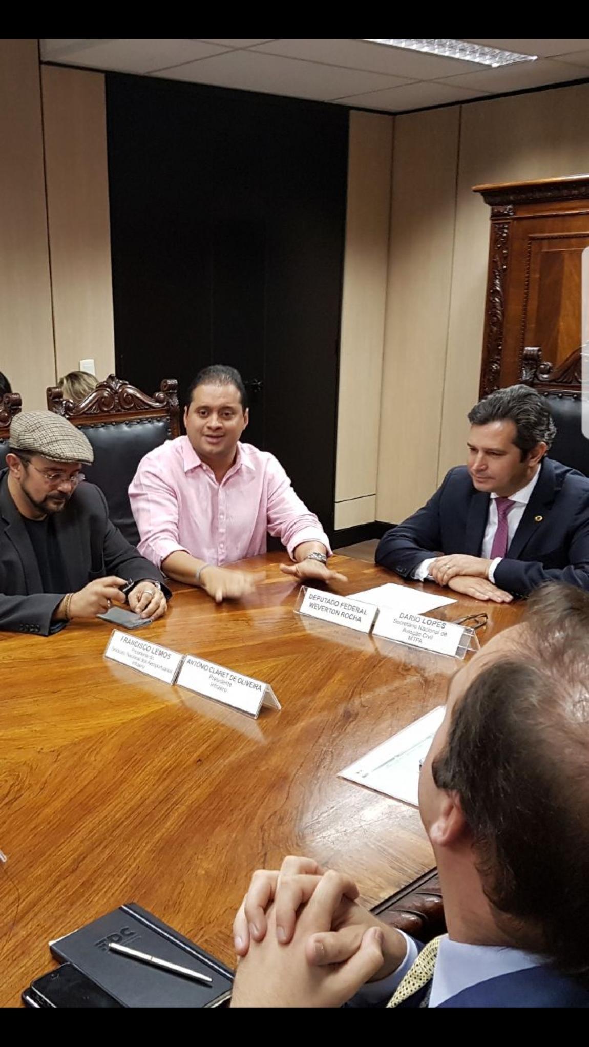 Imagem de SINA defende Frente Parlamentar em Defesa da Infraero no Congresso Nacional