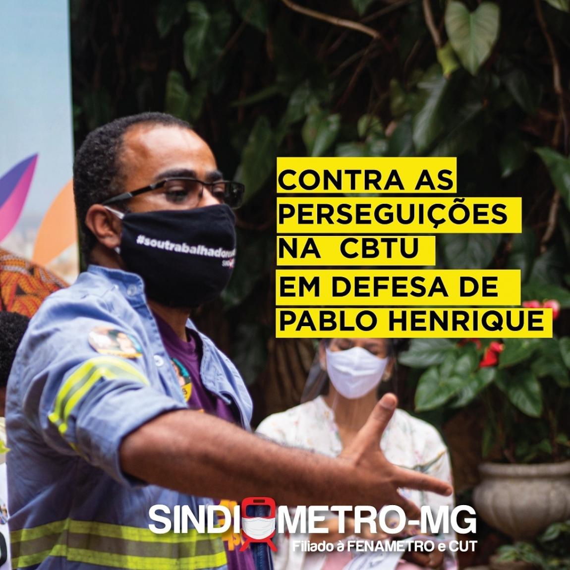 Imagem de CNTTL repudia prática antissindical da CBTU-MGque ameaça dirigente com demissão