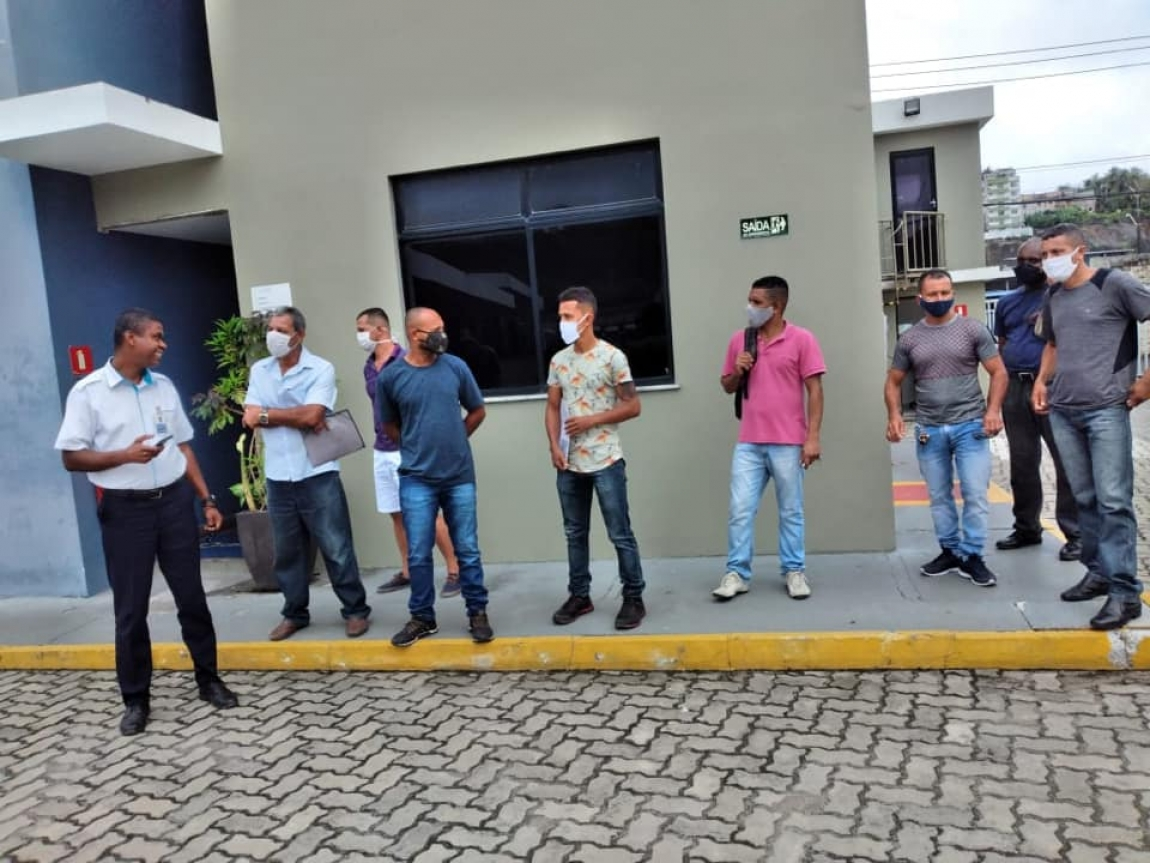 Imagem de Bahia: Luta do Sindinter garante reintegração de trabalhadores da Cidade Sol e Marte Transportes
