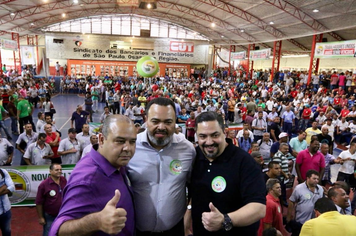Imagem de SP: Trabalhadores em transportes reafirmam resistência na defesa dos direitos e greve contra Reforma da Previdência